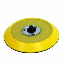 Chemical Guys BUFLC_BP_DA_6-6'' Inch Dual-Action Hook & Loop Flexible Backing Plate Molded Urethane Backing Plate