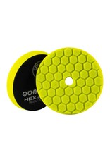 Hex-Logic BUFX111HEX6-Hex-Logic Quantum Buffing Pad -Yellow 6.5''