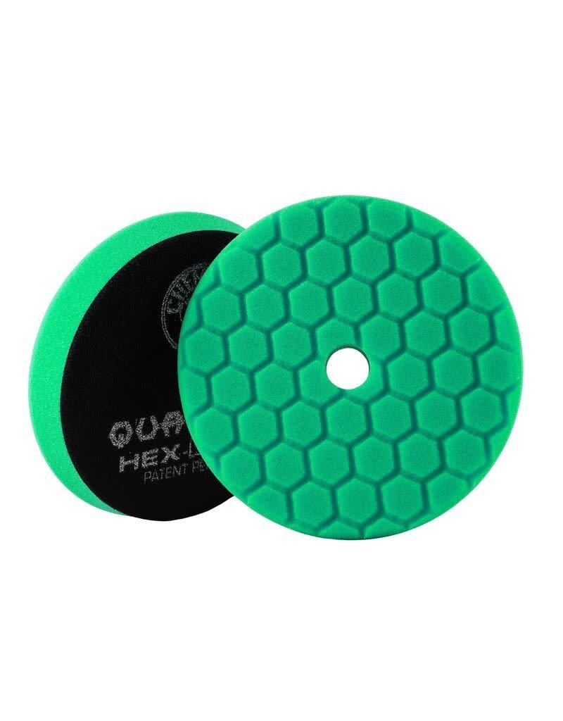 Hex-Logic BUFX113HEX6-Hex-Logic Quantum Buffing Pad -Green -6.5''