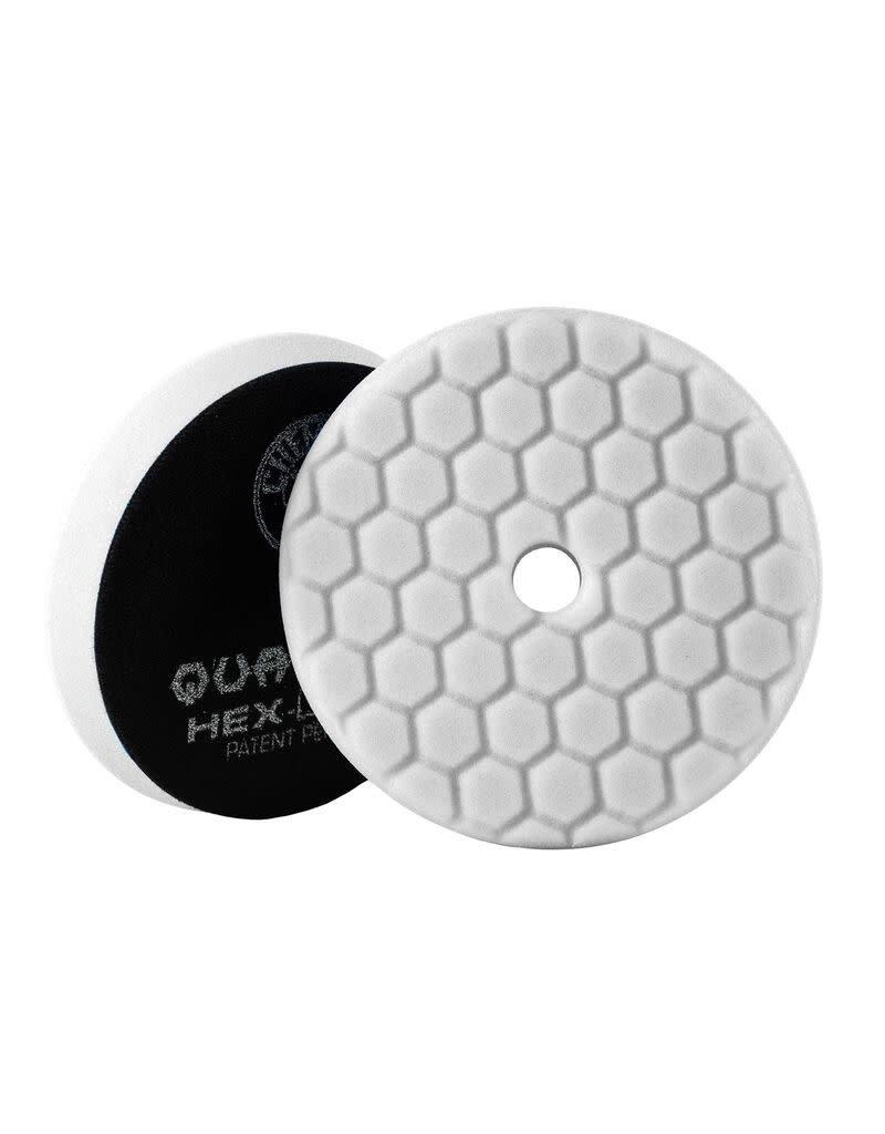 Hex-Logic BUFX114HEX5-Hex-Logic Quantum Buffing Pad -White -5.5''