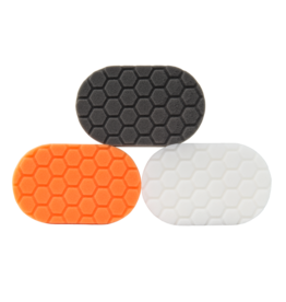 Hex-Logic BUFX_204-Hex-Logic Hand Polishing Applicator Pads 3X6X1In. (3 Pack)