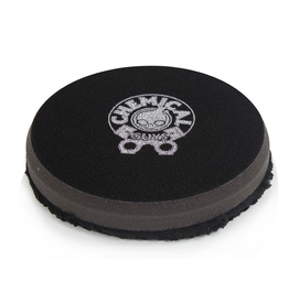 Hex-Logic BUFX_301_4-4'' Finishing Micro Fiber Pad, Black  Inner Foam, 3/4'' Thickness (1pcs)