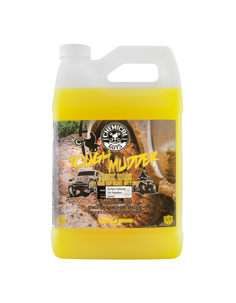 Chemical Guys CWS202-Tough Mudder Truck Wash Off Road ATV Heavy Duty Soap, 1 Gal