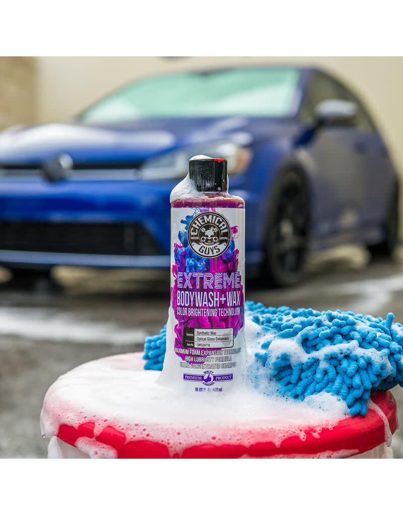 Chemical Guys CWS20716-Extreme BodyWash and Wax Car Wash Soap (16oz)