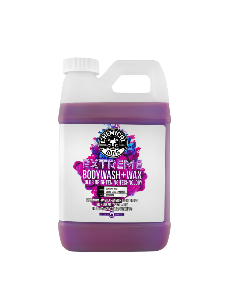 Chemical Guys CWS20764-Extreme BodyWash and Wax Car Wash Soap (64oz)