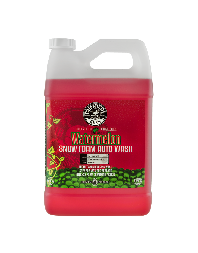 Chemical Guys CWS208 - Watermelon Snow Foam Auto Wash Cleanser (1 Gal)