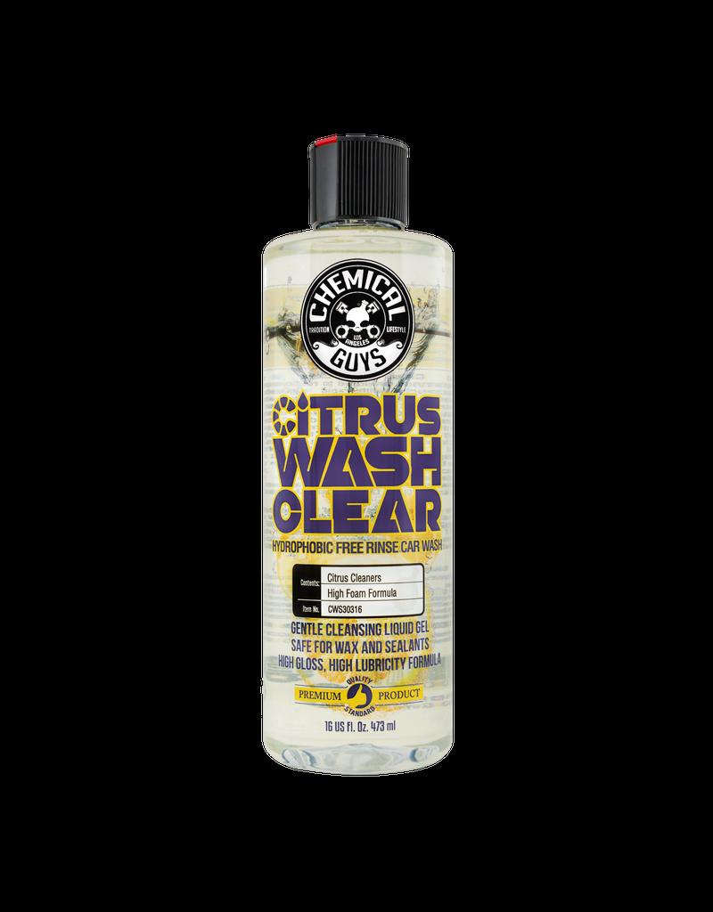 Chemical Guys CWS30316-Citrus Wash Clear Hydrophobic Free Rinse Car Wash (16 oz)