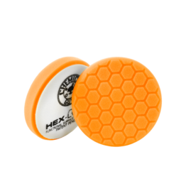 Hex-Logic BUFX_102HEX5-5.5'' Hex-Logic Pad Orange 5.5'' Medium-Heavy Cut Scratch & Swirl Remover Pad- (5.5''Inch)