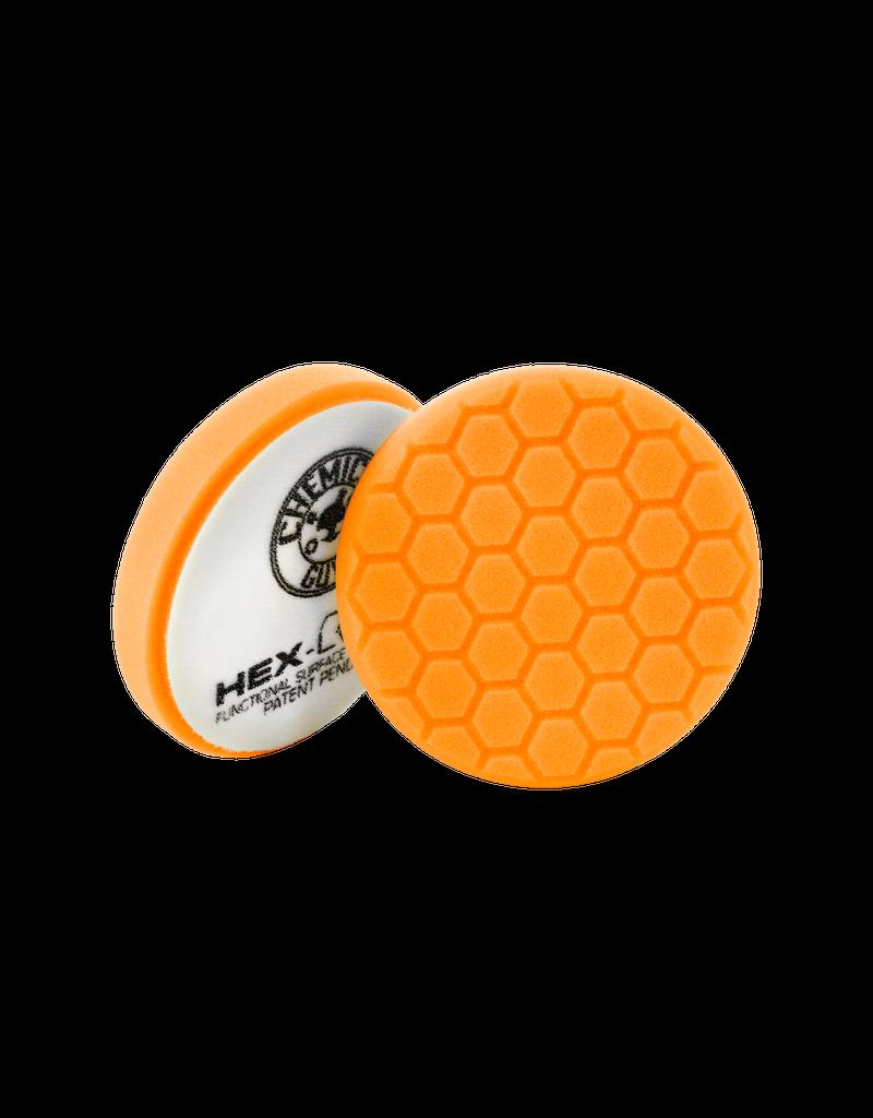 Hex-Logic BUFX_102HEX5-5.5'' Hex-Logic Pad Orange 5.5'' Medium-Heavy Cut Scratch & Swirl Remover Pad- (5.5''Inch)