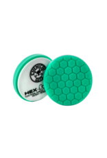 Hex-Logic BUFX_103HEX6-6.5 '' Hex-Logic Pad Green Light Cut-Heavy Polish Minor Scratch & Swirl Remover Pad- 6.5''Inch)
