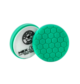 Hex-Logic BUFX_103HEX6-6.5 '' Hex-Logic Pad Green Light Cut-Heavy Polish Minor Scratch & Swirl Remover Pad- 6.5''Inch)