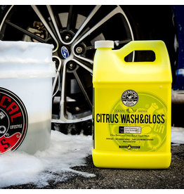 Chemical Guys CWS_301- Citrus Wash & Gloss Citrus Based Hyper-Concentrated Wash+Gloss (No-More Spots) (1 Gal)