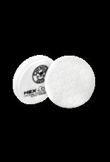 Hex-Logic BUFX_104HEX6-6.5'' Hex-Logic Pad - White Medium Light Polishing Pad (6.5''Inch)
