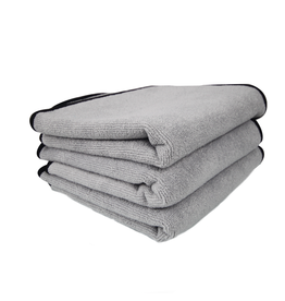Chemical Guys MIC102303-Ultra Plush Microfiber Detailing Towel, 16'' X 16'' (3 Pack)