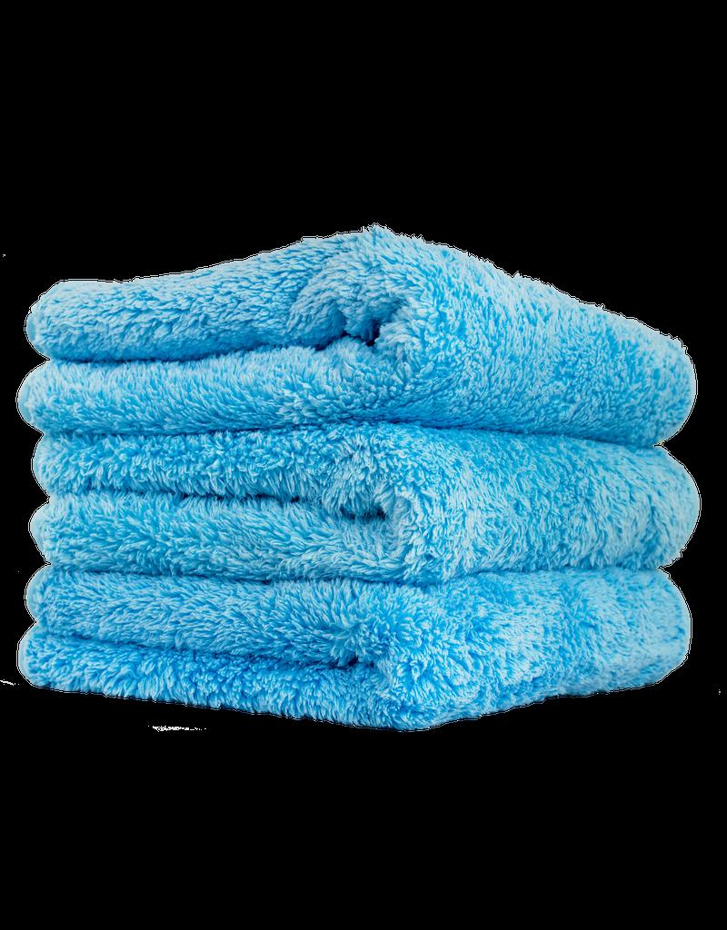 Chemical Guys MIC32103-Shaggy Fur-Ball Premium Detailing Microfiber Towel, Blue 16'' X 16'' (3 Pack)