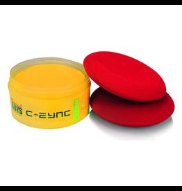 Chemical Guys N_001-E-Zyme Natures Finest Paste Wax-(8oz)+ 2 Wax+ Dressing Applicators W-APS / Ufo Applicators.