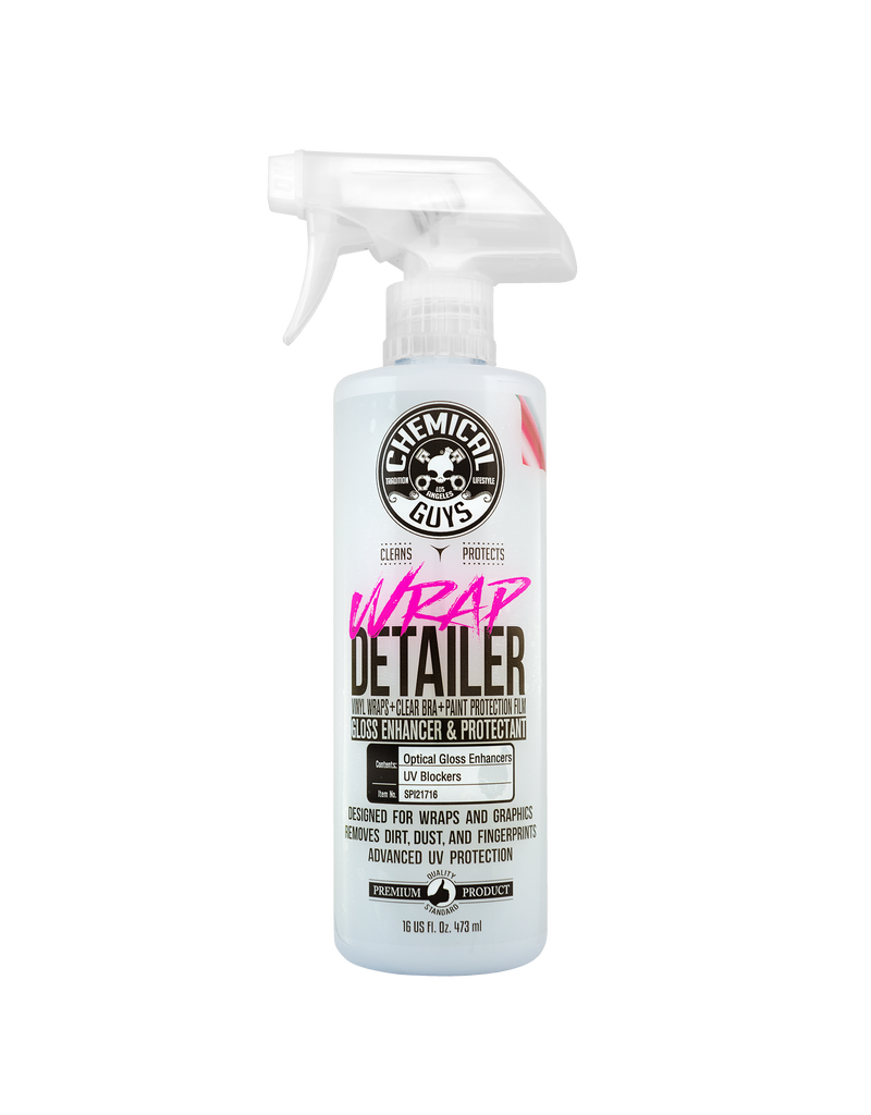 Chemical Guys SPI21716-Wrap Detailer Gloss Enhancer & Protectant (16 oz)