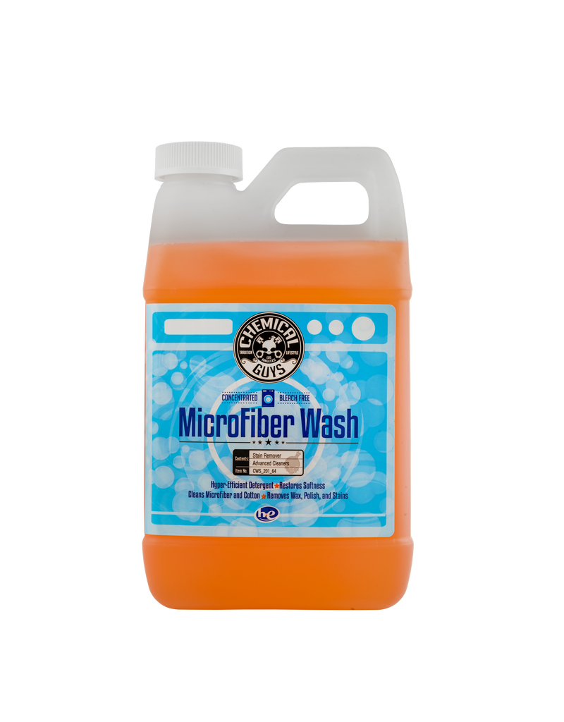 Chemical Guys CWS_201_64- Microfiber Rejuvenator Microfiber Wash Cleaning Detergent Concentrate (64 oz  - 1/2 Gal)