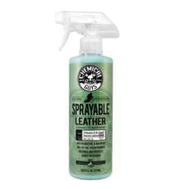 Chemical Guys SPI_103_16-Sprayable Leather Conditioner & Cleaner In One Ph Balance w/ Vitamin E & Aloe (16 oz)