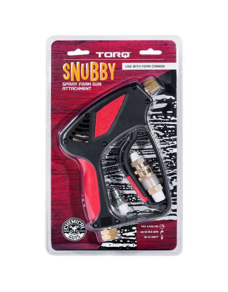 TORQ Tool Company EQP402 - TORQ Snubby Foam Cannon, Pressure Washer Attachment