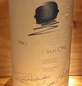 1980 Opus One SOLD OUT NO MORE INVENTORY