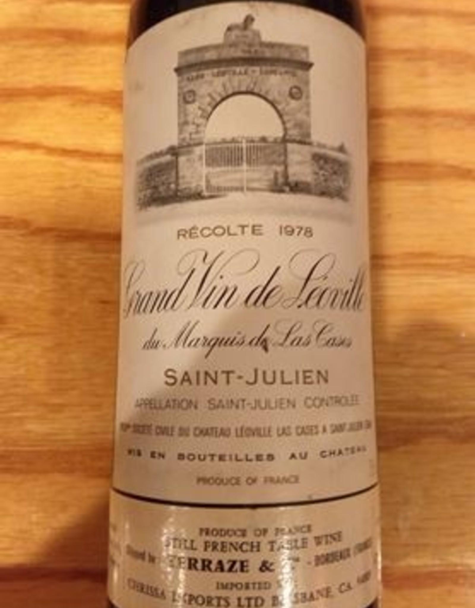 Ch Leoville Las Cases 1978 St Julien