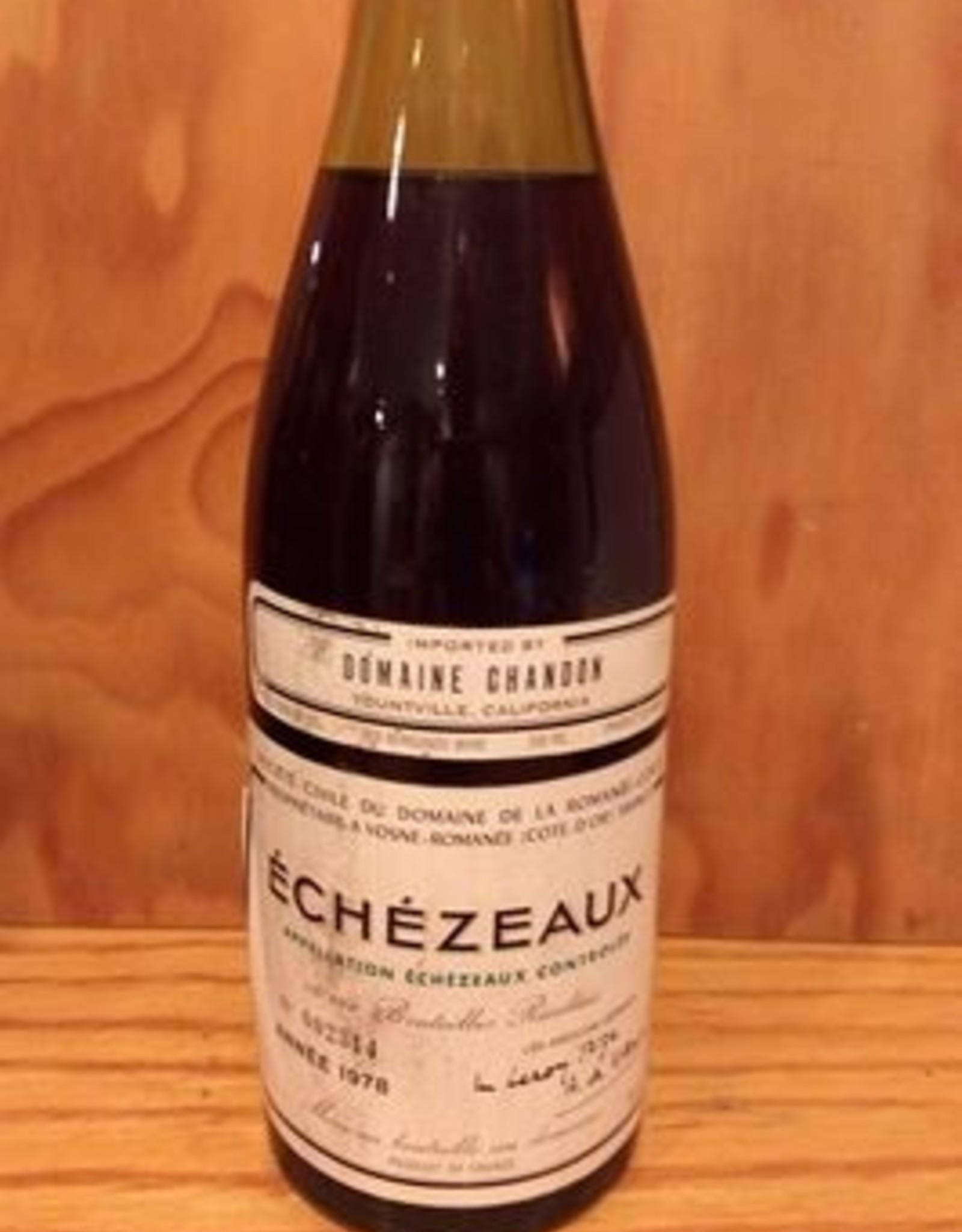 DRC Echezeux 1978 10% Sale