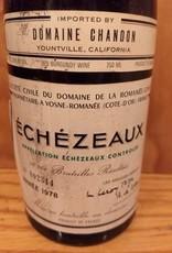 DRC Echezeux 1978