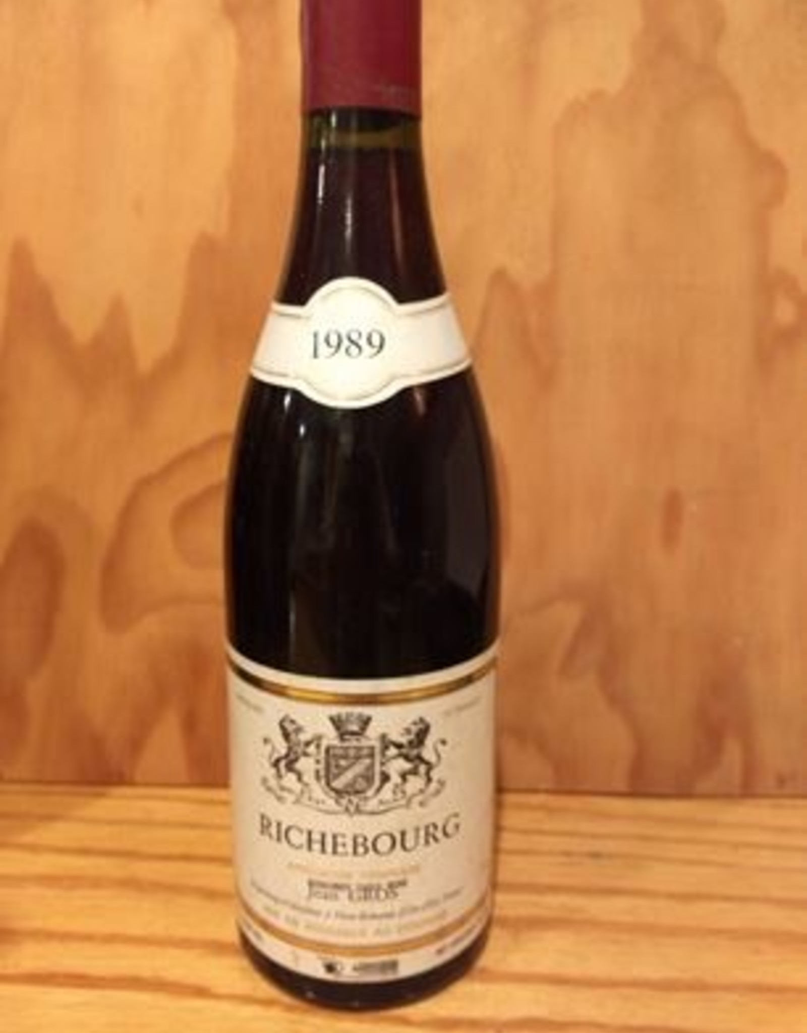 Jean Gros Richebourg 1989 Sale Pending