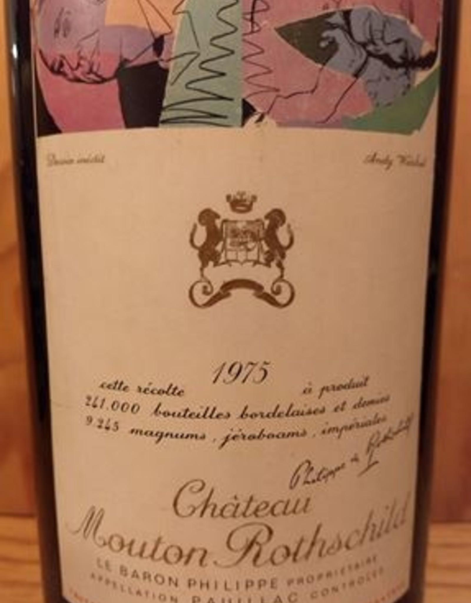 Ch Mouton Rothschild 1975 3 Liter