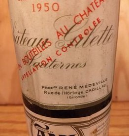 Ch Gilette Sauternes 1950