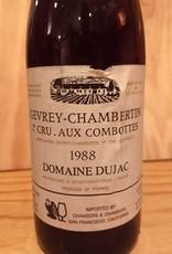 Dujac Gevrey Chambertin 1er Cru Aux Combottes 1988