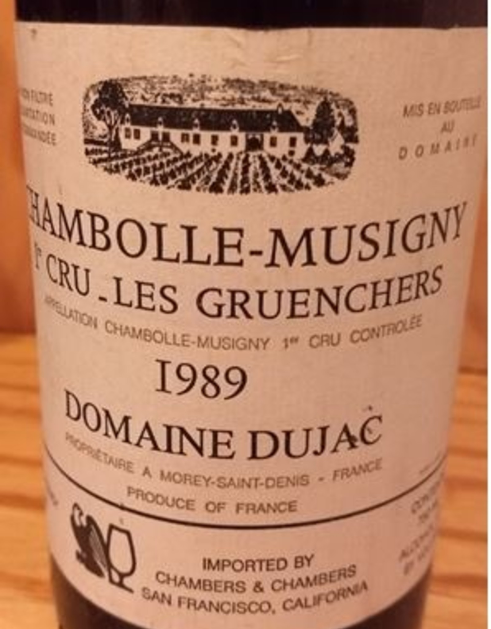 Dujac Chambolle Musigny 1989 Les Gruenchers