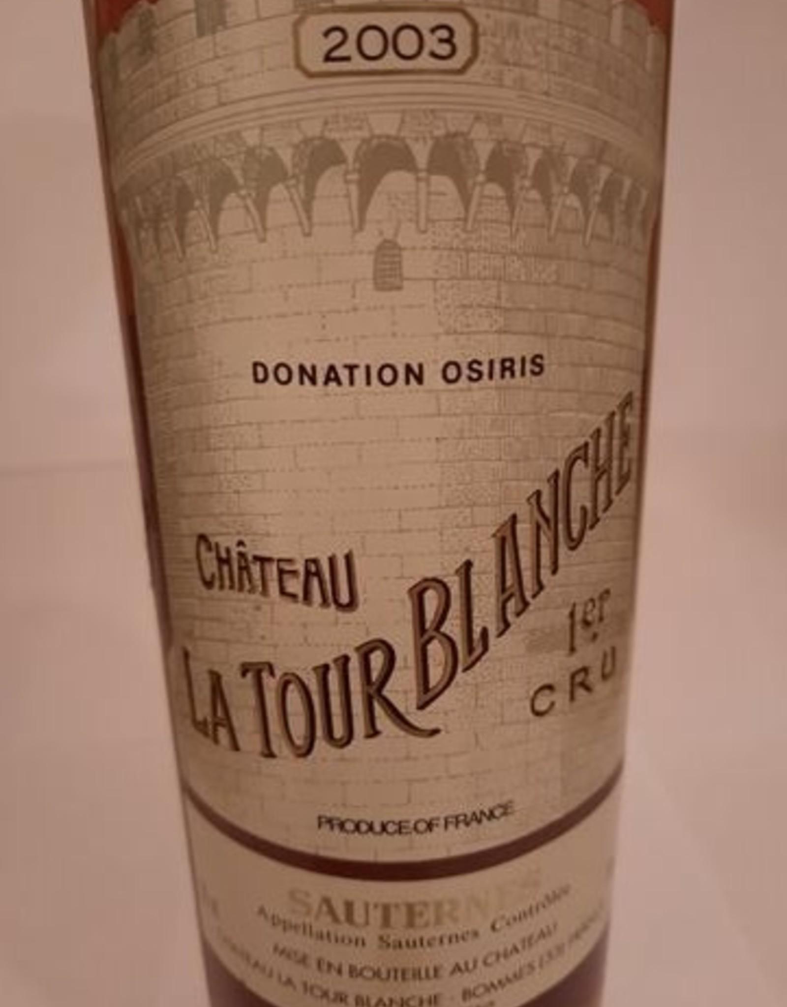 Ch Latour Blanche 2003 Sauterne