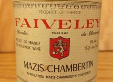 Faiveley Mazis Chambertin 1978
