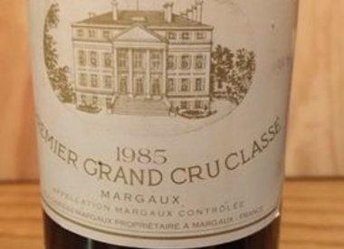 Ch Margaux 1985