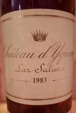 Ch d'Yquem 1983 Sauterne