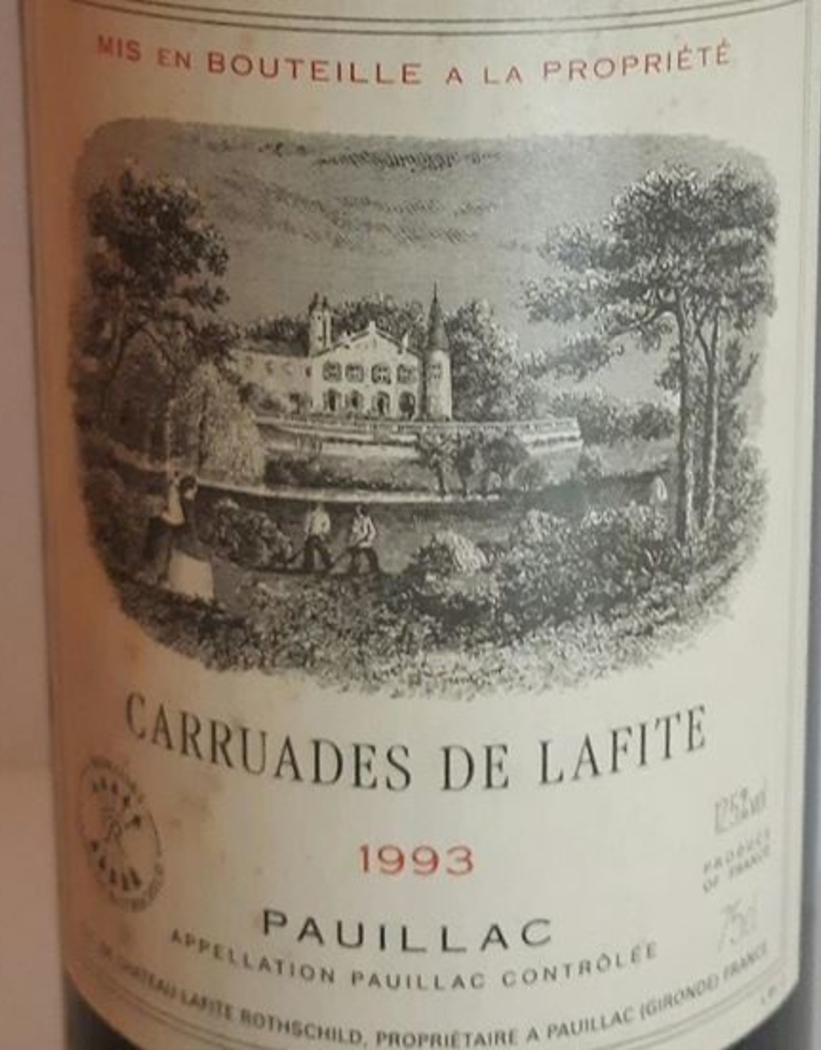 Ch Carruades De Lafite 1993