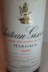 Ch Giscours 1989
