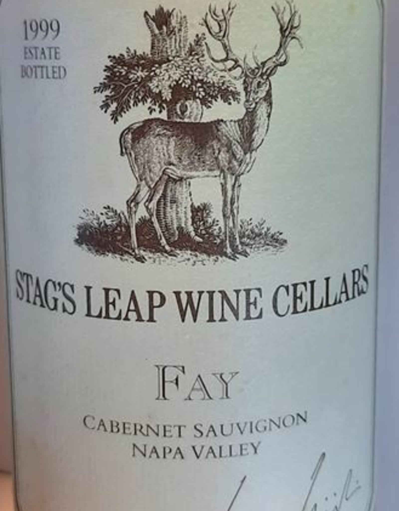Stags Leap Wine Cellars Fay 1999 Cabernet Sauvignon