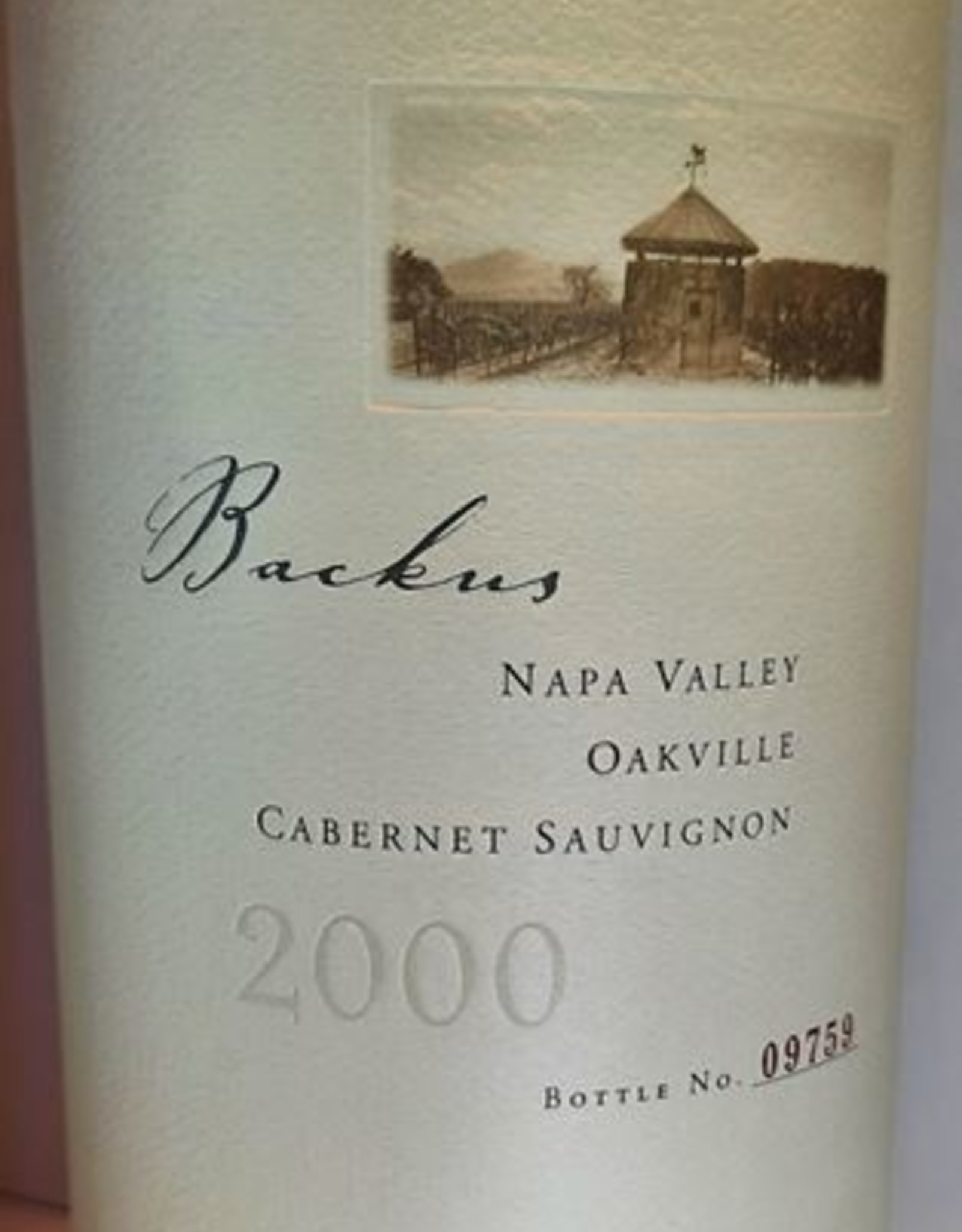Phelps Cabernet Sauvignon Backus 2000
