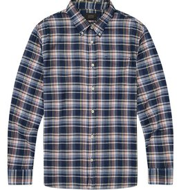 Jachs Stretch Double Face Plaid Shirt