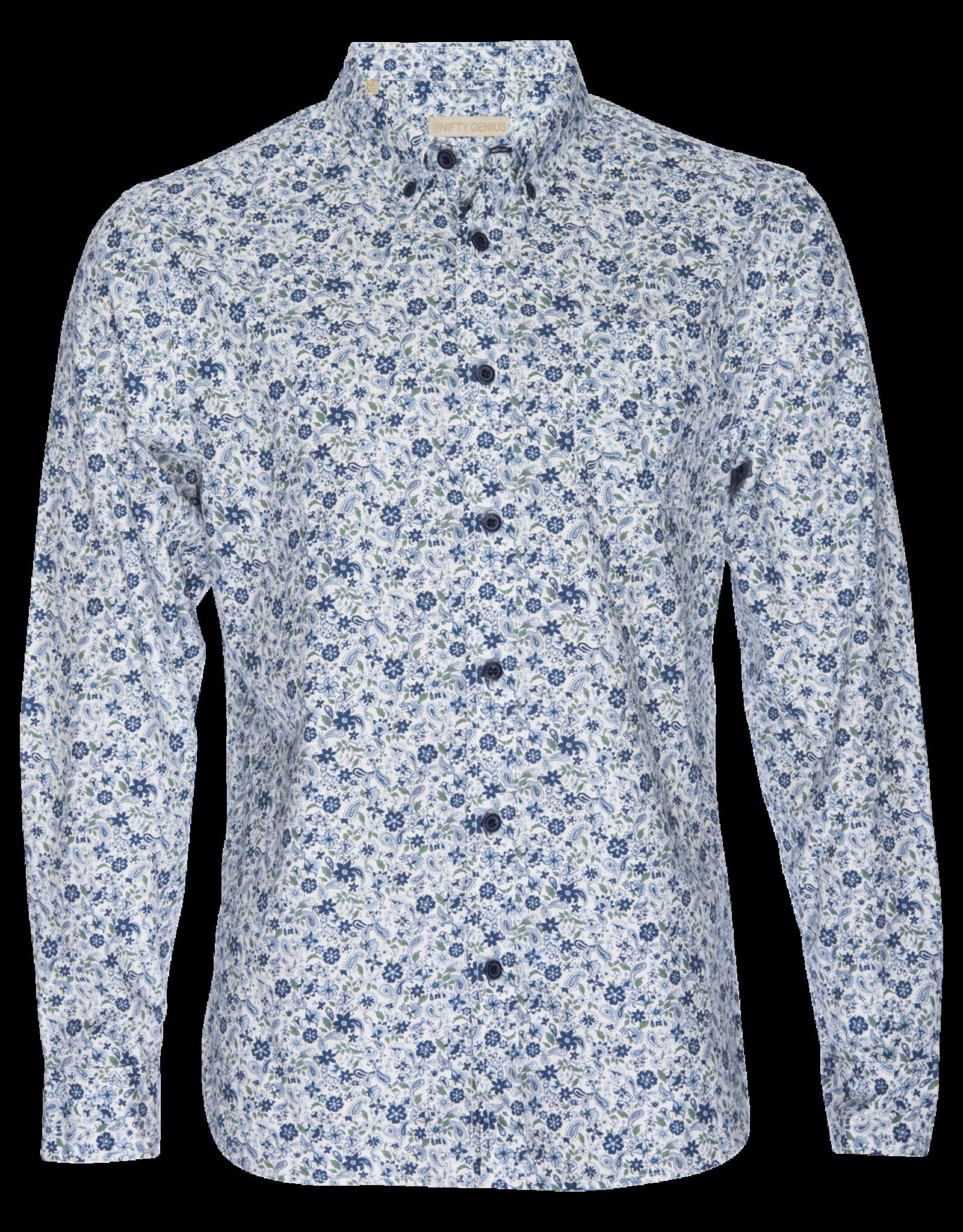 Nifty Genius Truman Button Collar