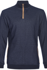 Nifty Genius Mock Neck Velour 1/4 Zip