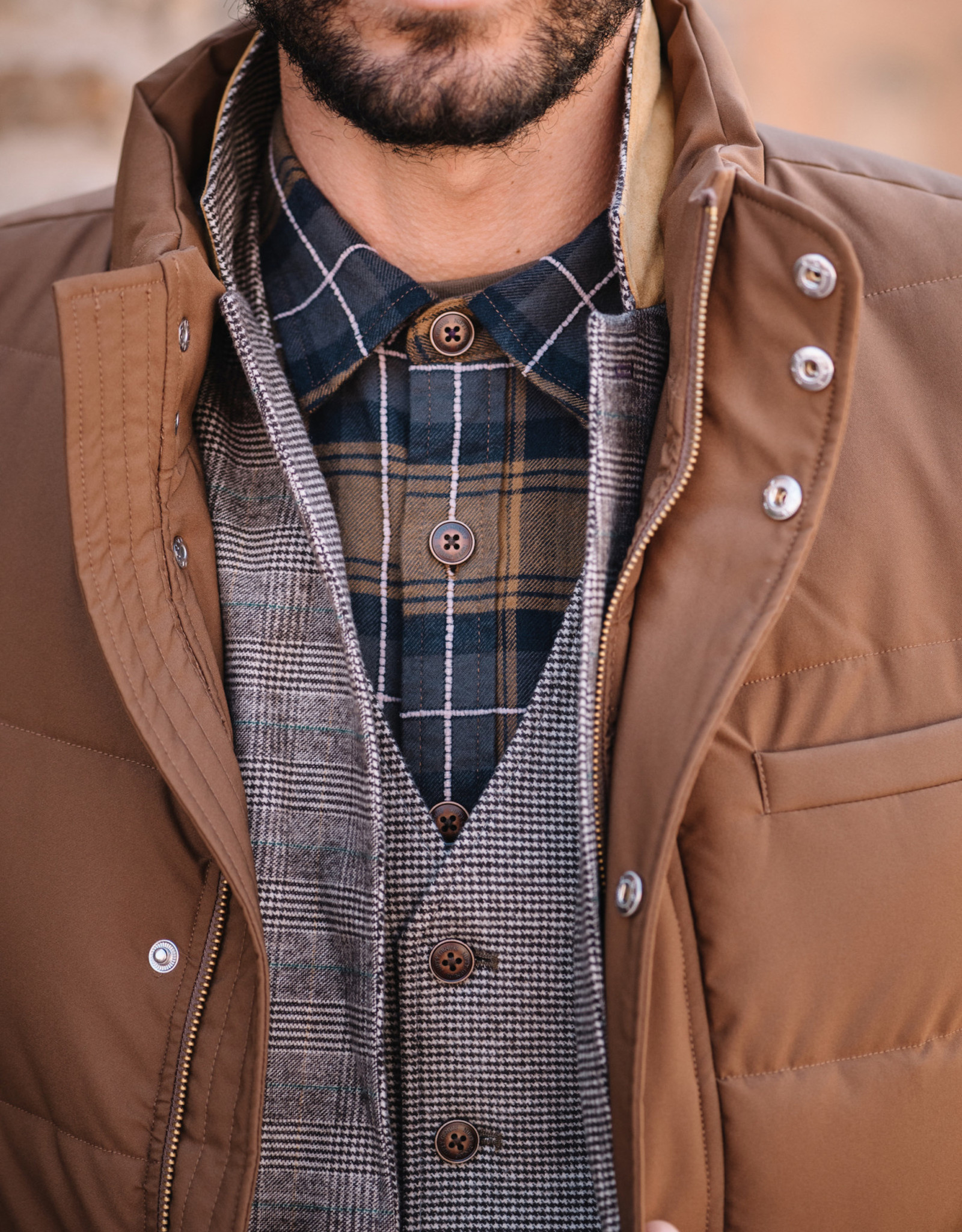 Nifty Genius Truman Plaid Outdoor Shirt