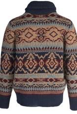 Schott Southwestern Shawl Sweater