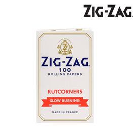 Zig Zag Papers - White Kutcorners
