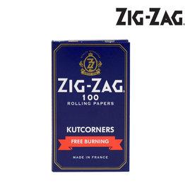 Zig Zag Papers - Blue Kutcorners