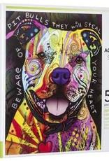 Dean Russo Pit Bull Puzzle - 500 Piece