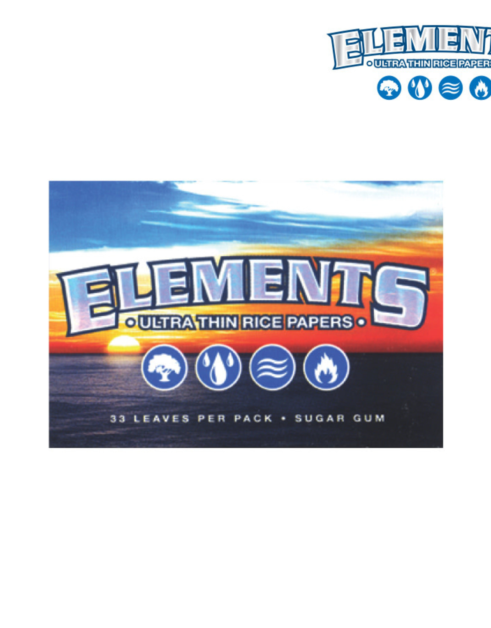 Elements Single Wide Papers - Rice
